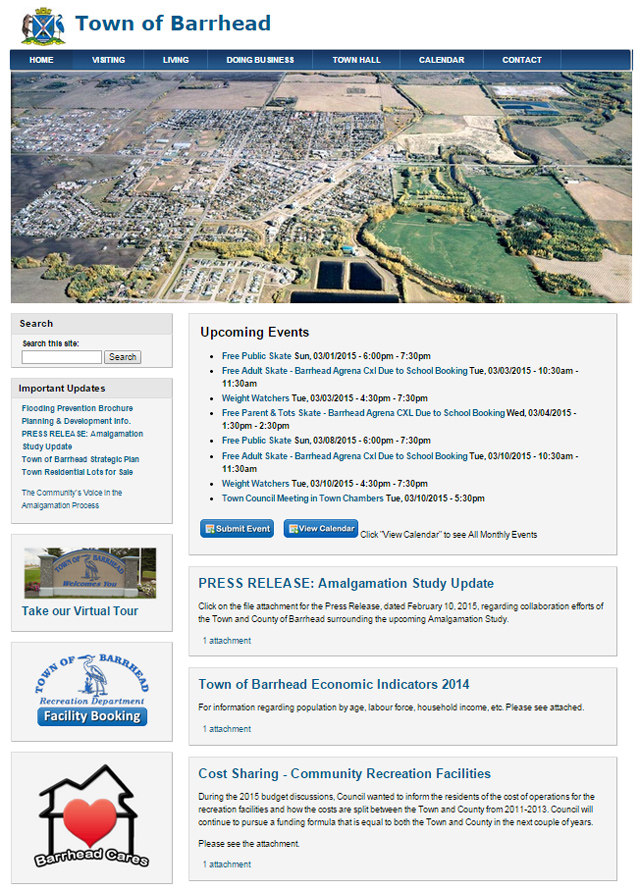 Municipal Website Design