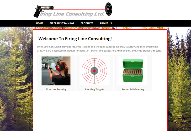 Firearm Training Web Development